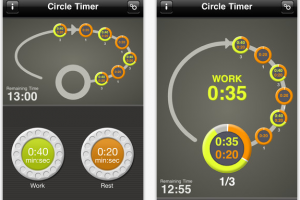 Circle Timer – Interval Trænings App